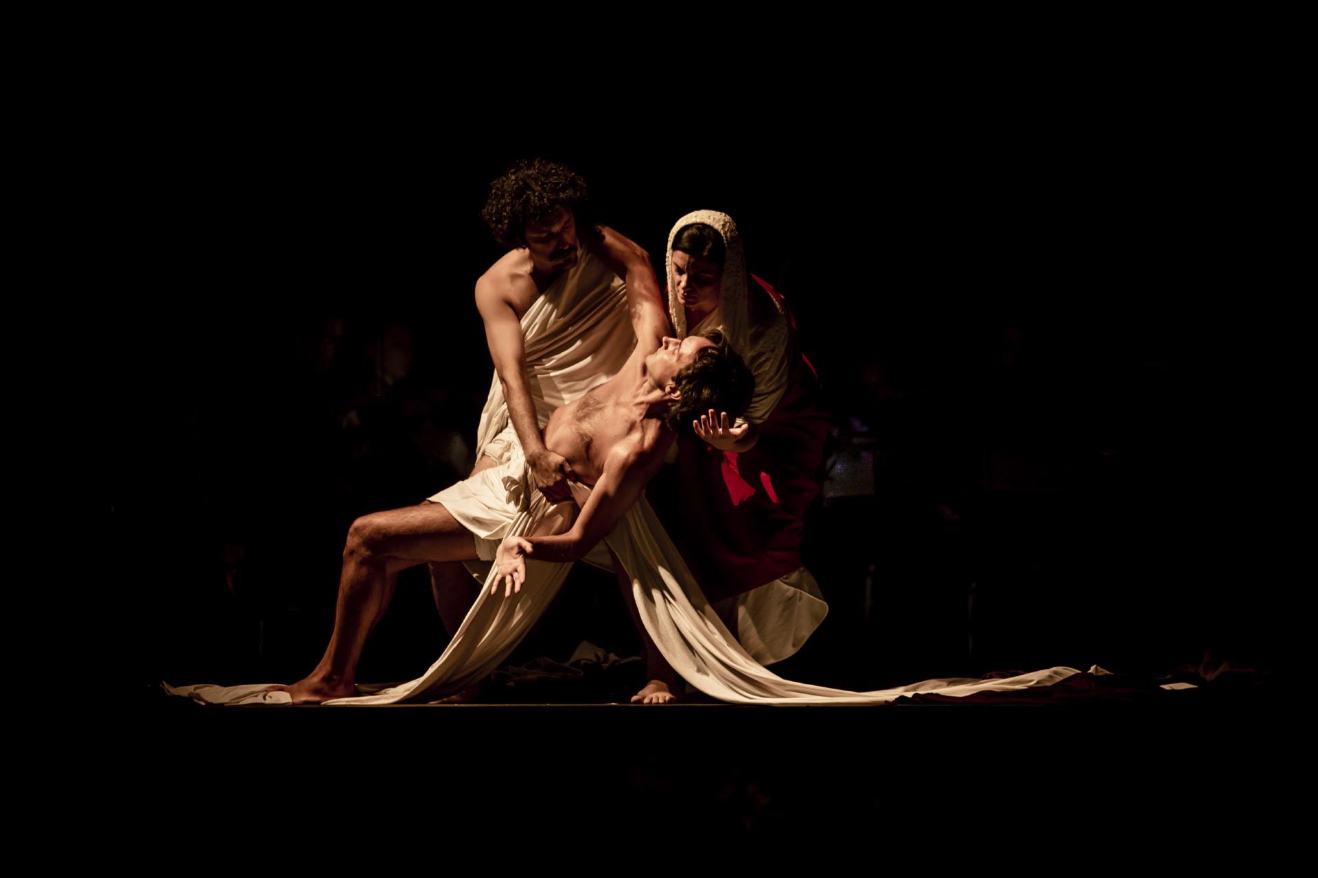Tableau Vivant Resurrezione di Lazzaro Caravaggio