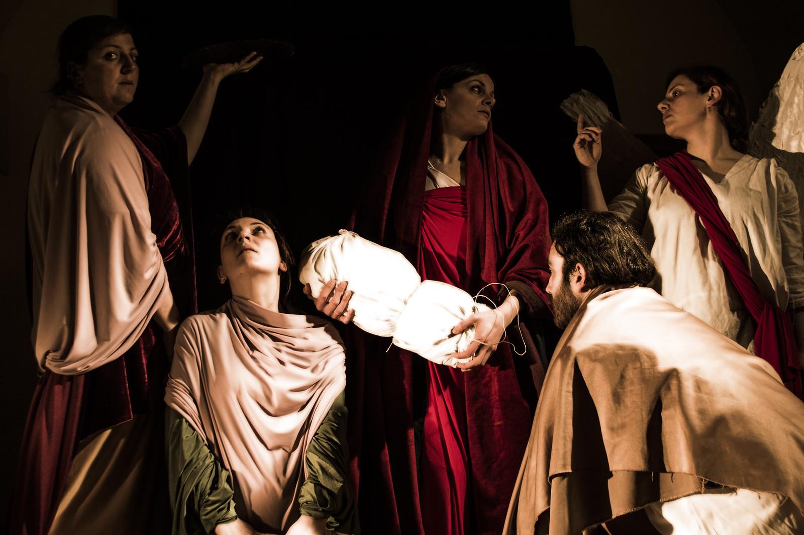 tableau vivant Madonna di Ruffillo Pontormo