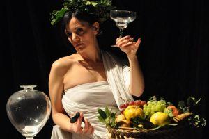 Tableau vivant - Bacco - Caravaggio - Teatri 35 - Teatro del Fuoco - Foggia
