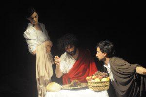 Tableau vivant Cena di Emmaus - Caravaggio - Teatri 35 - Teatro Civico 14 - Caserta