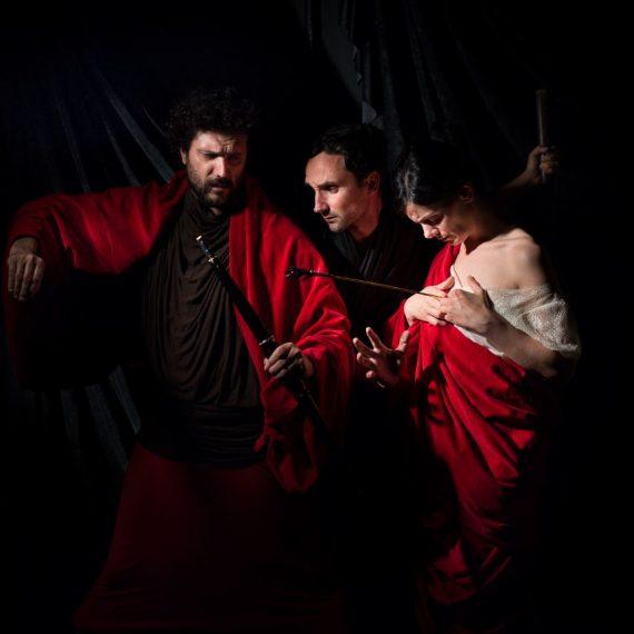 tableau vivant Martirio di Sant'Orsola Caravaggio