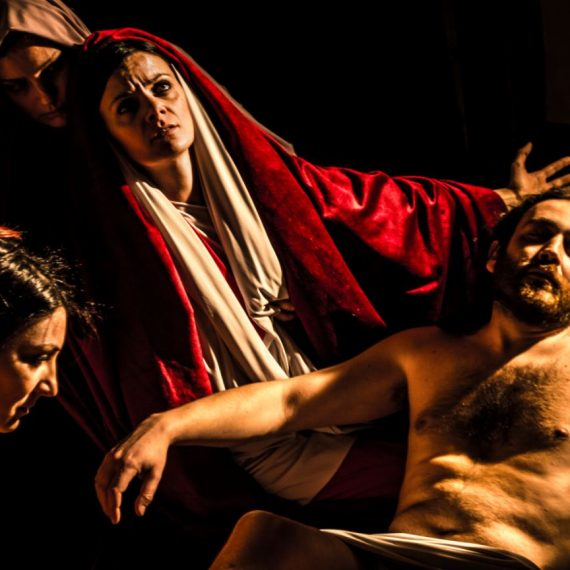 tableau vivant Pietà Rosso Fiorentino