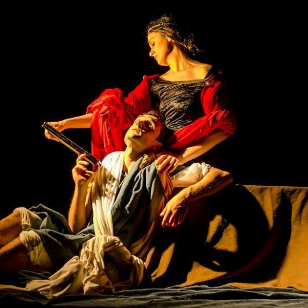 tableau vivant Amori di Rinaldo e Armida Paolo Finoglio