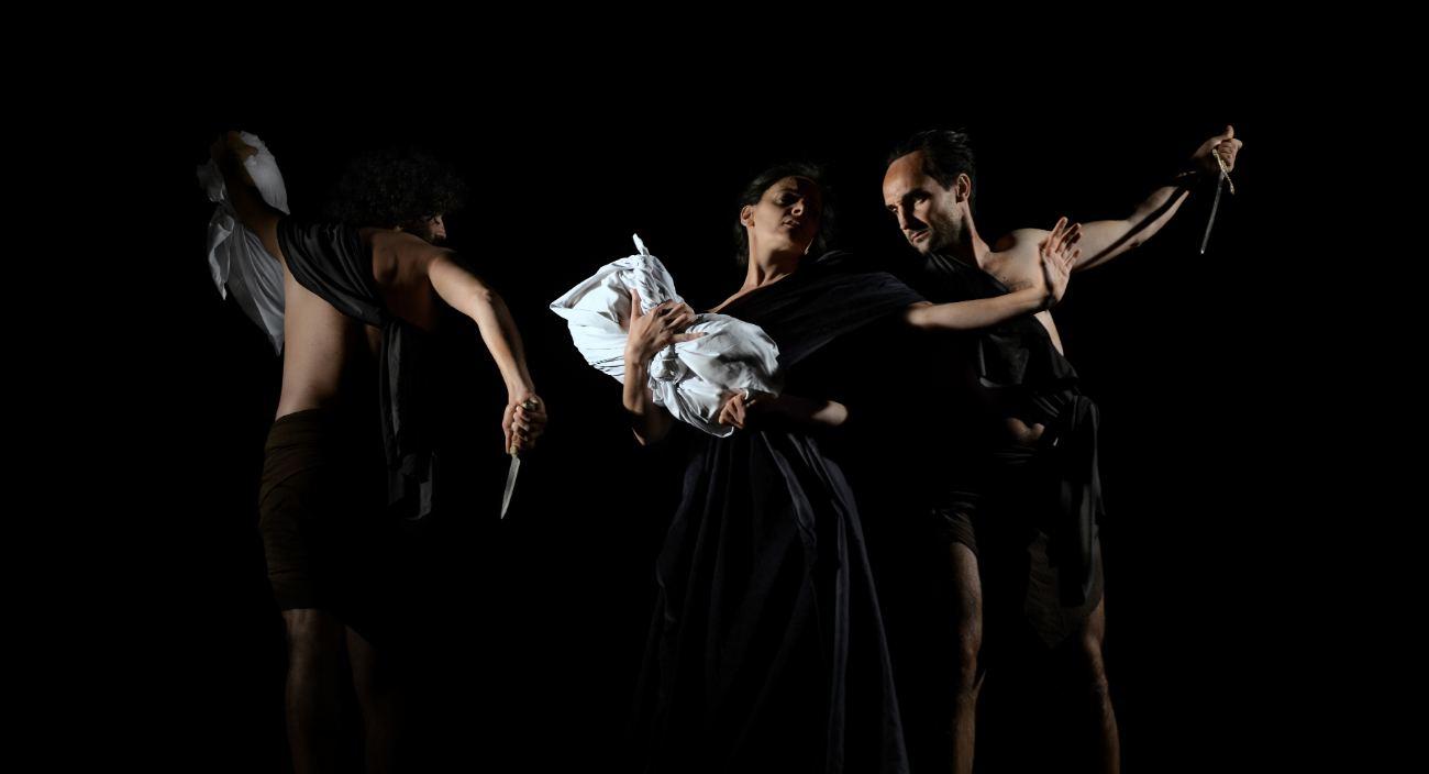 tableau vivant Stage degli innocenti Andrea Vaccaro