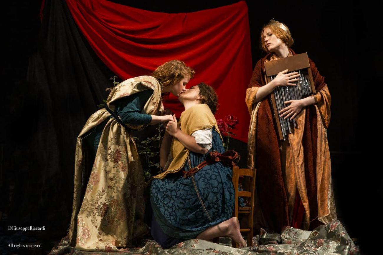 tableau vivant Romanzo delle rose Dante Gabriel Rossetti