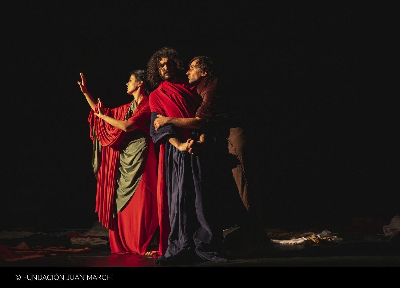 Tableau Vivant Bacio di Giuda Caravaggio
