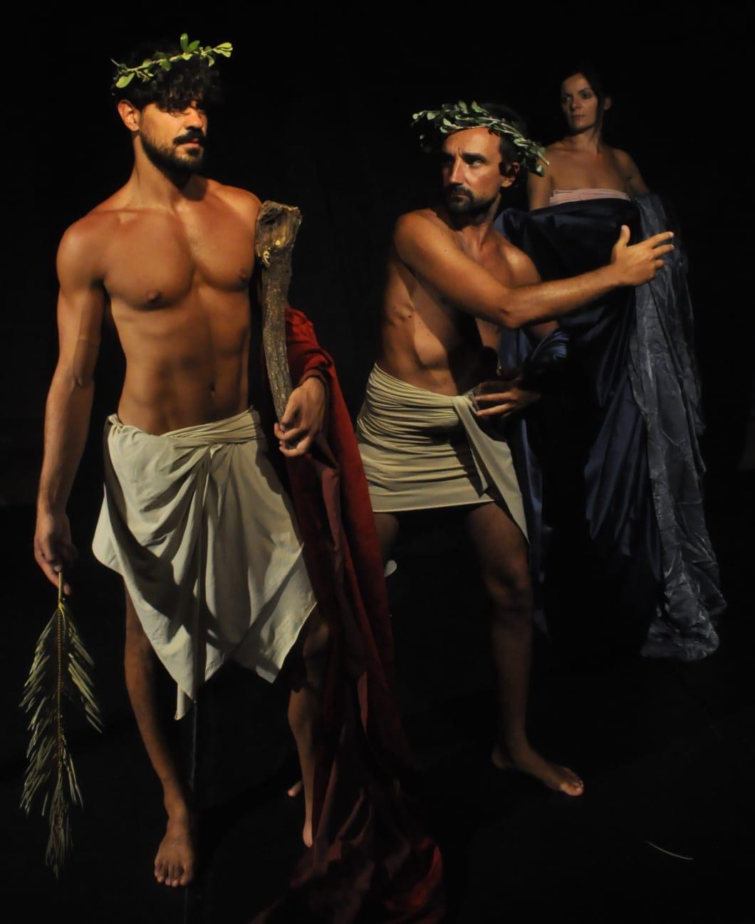 Teatri 35 Tableau vivant - Eracle - Affresco Ercolano